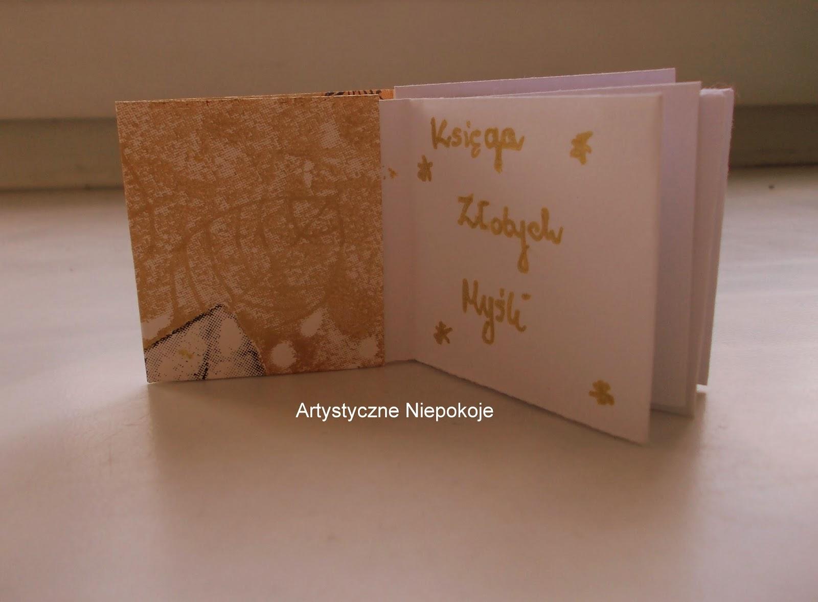 (Mini)księga origami – Złote Myśli