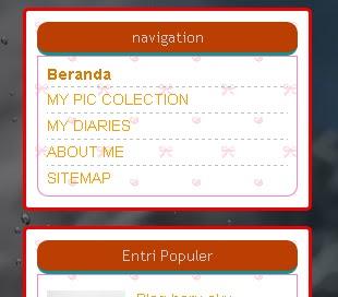 Membuat border dan background pada widget sidebar