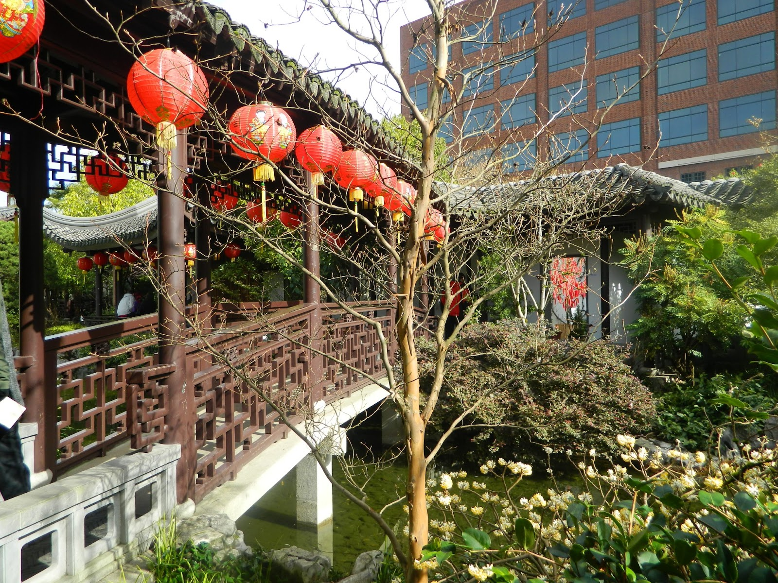 GardenEnvy: Portland\'s Chinese Garden Sows Good Fortune And Joy