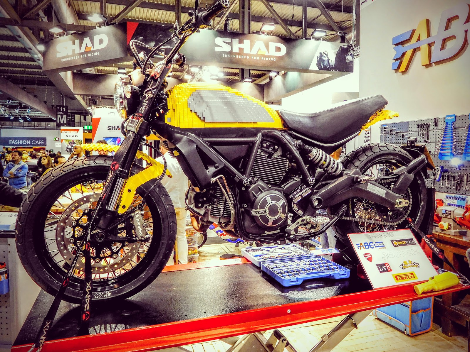 Ducati Travelogue Of Tigh Loughheads Motorcycle Adventures In Nyc