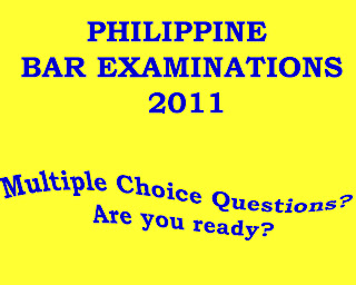 mcqs for bar exams Past exam questions for the california bar exam and the first-year law  students' exam  california bar examination examination questions essay.