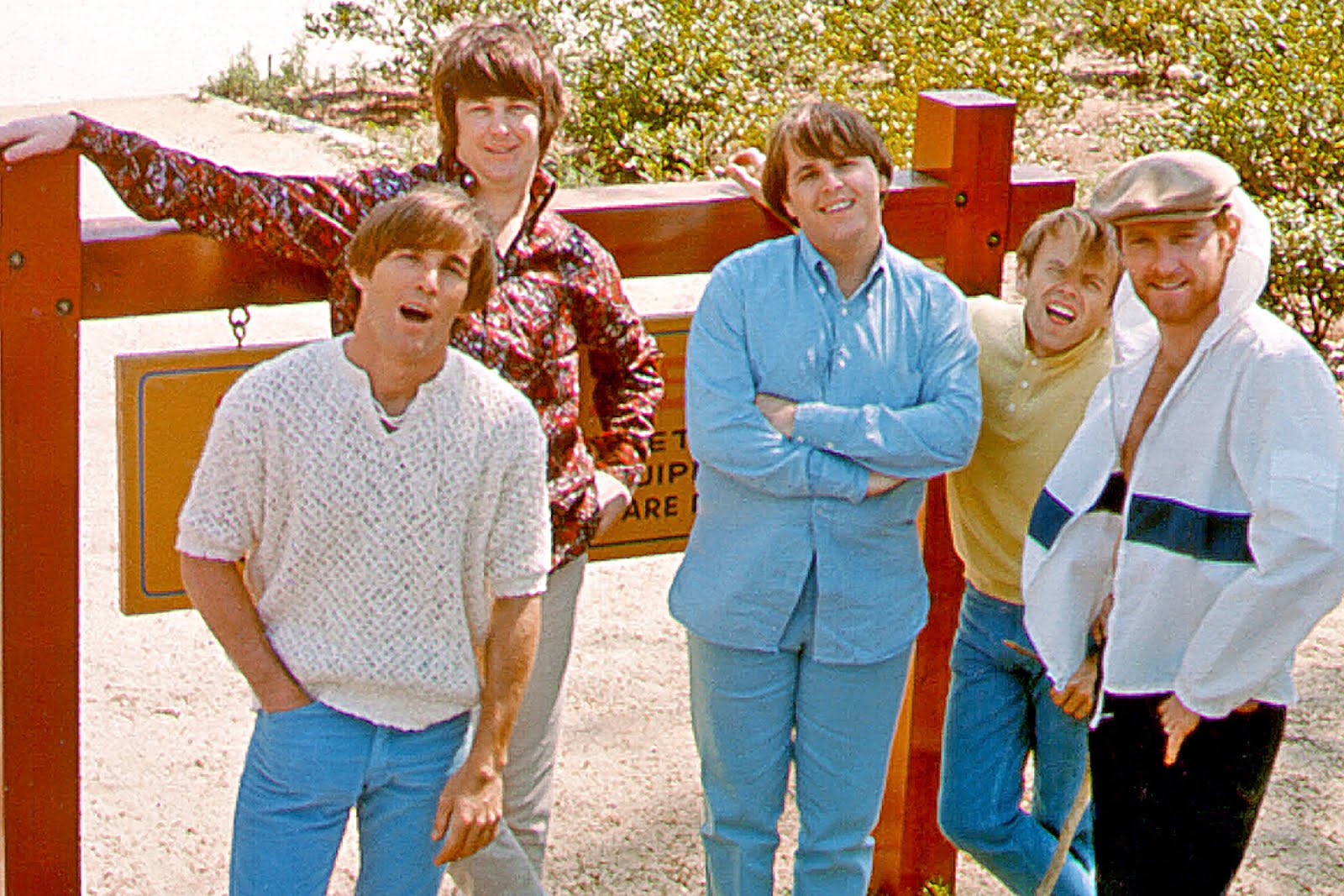 JULY 2020 FEATURED ARTIST OF THE MONTH - THE BEACH BOYS!