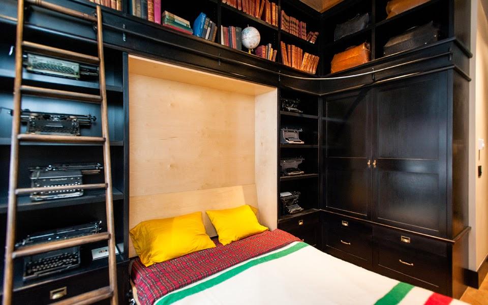 Maximiser les petits espaces:idées design lits escamotables