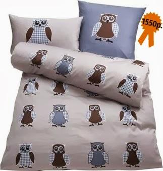 Комплект постельного белья «Cовы» Auro от Baur