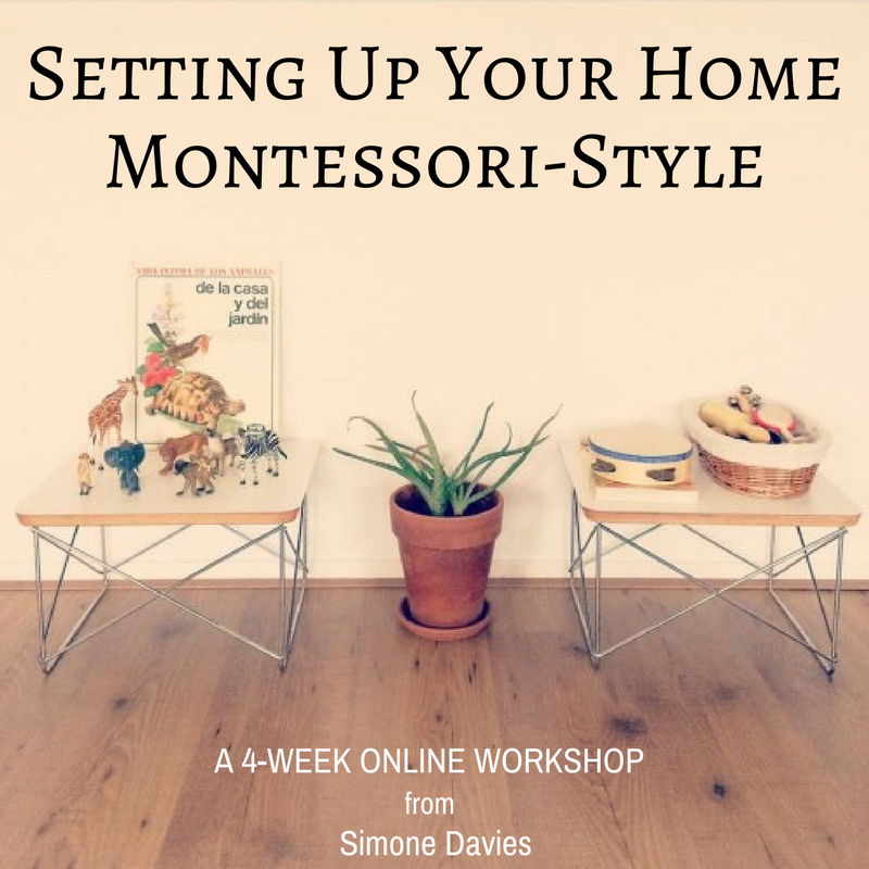 Join amazing Setting Up Your Home Montessori Style Course