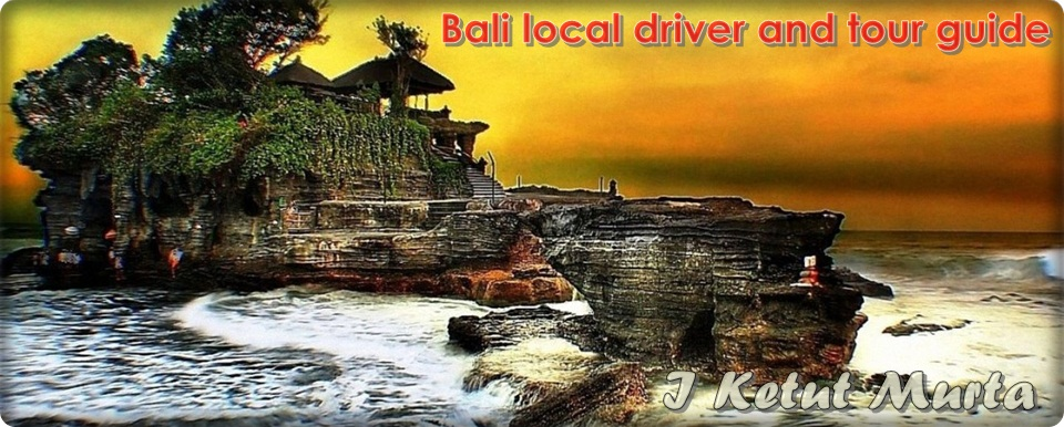 Bali local driver and tour guide I Ketut Murta