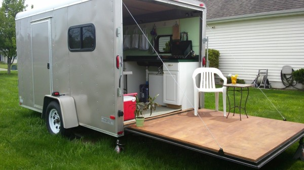 Luxury Gallery For Gt Enclosed Utility Trailer Camper