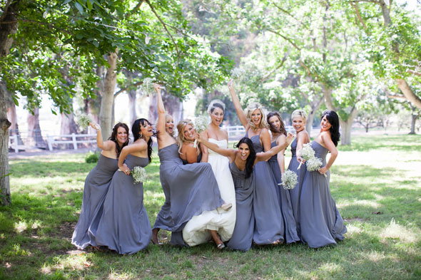 Grey Yellow Walnut Grove Wedding