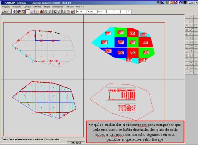 pantalla de ploteado con wcadi
