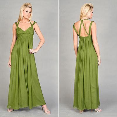 Lime-green-chiffon-evening-dress