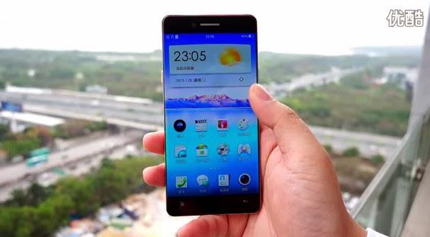 Oppo R7, Oppo Bezelless Smartphone