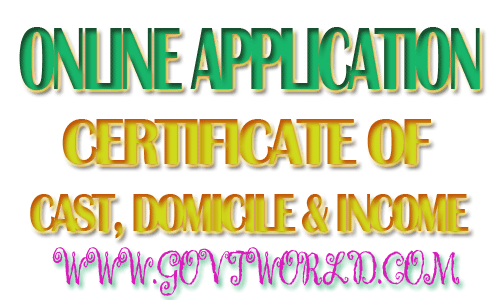 Apply for Cast, Income & Domicile Certificate UP