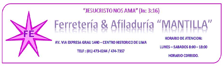 Ferretería & Afiladuría Mantilla