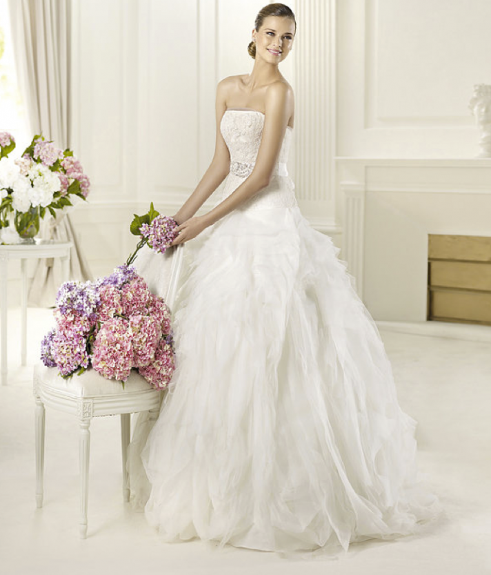 Romantic Bridal Gowns : Annie s fashion break romantic wedding dresses from