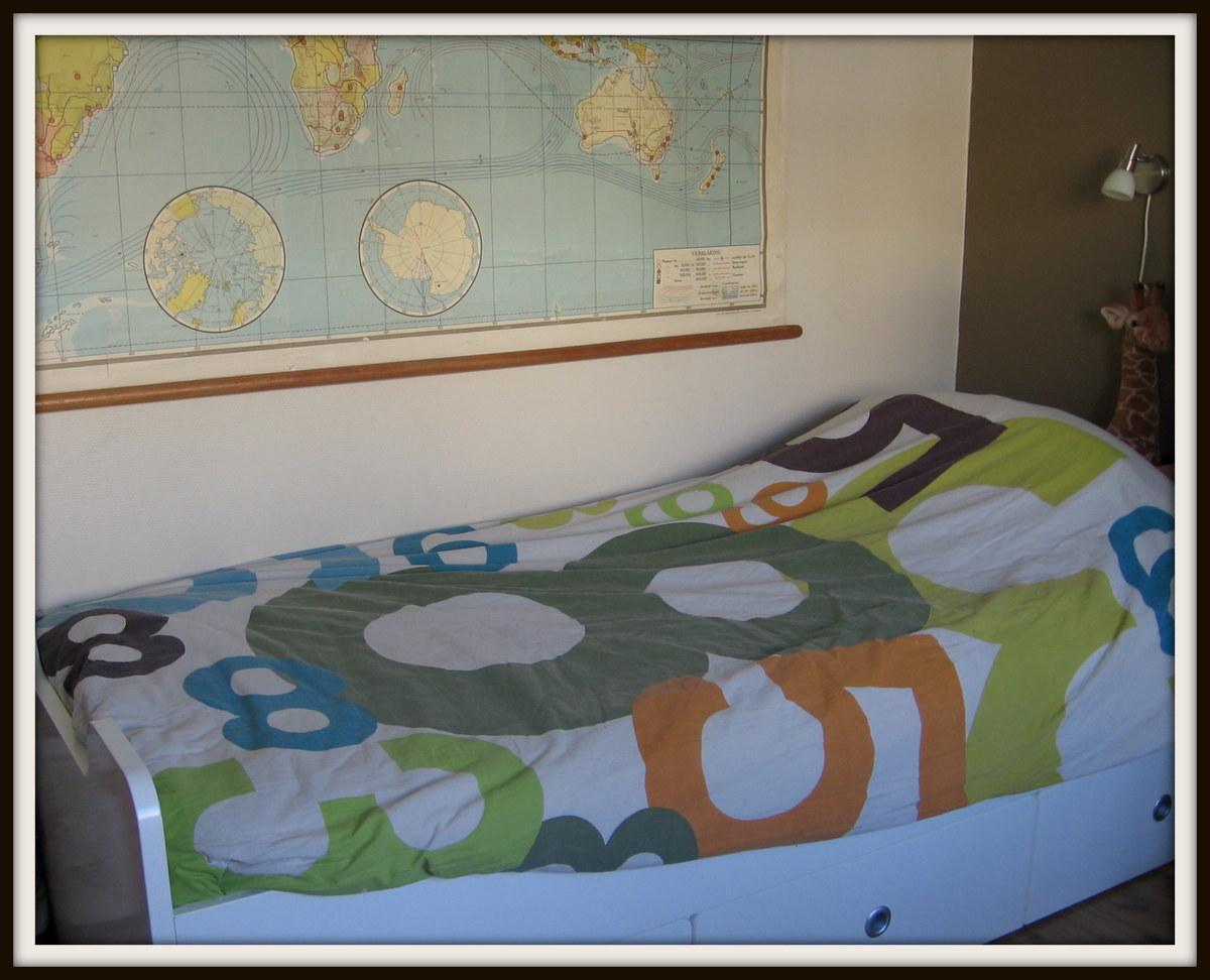 Huize kipkakel een kijkje in een kinderkamer - Zoon deco kamer ...