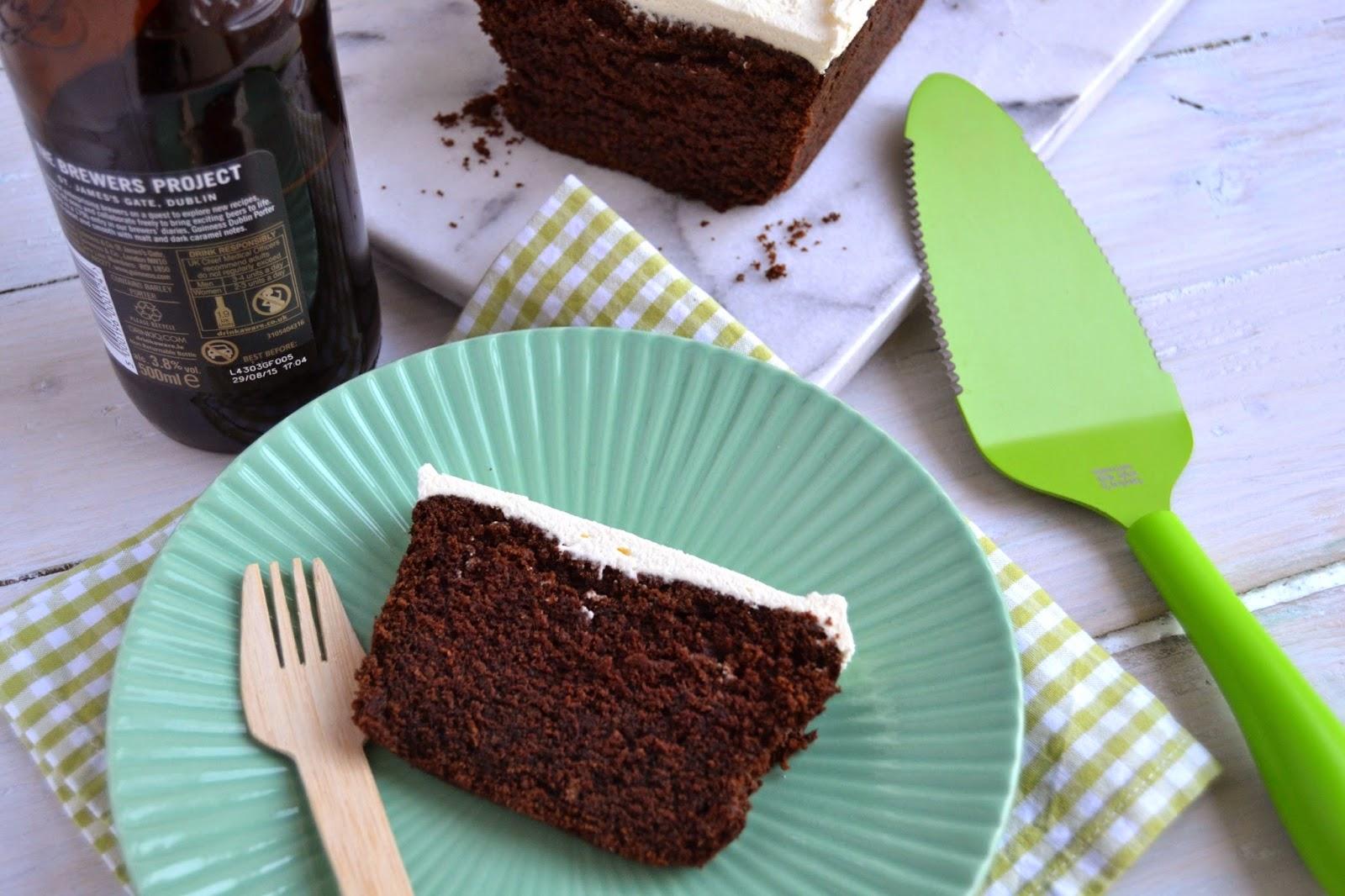 Cakeyboi: Irish Stout Mocha Loaf Cake