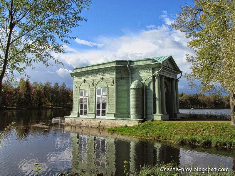 Павильон Венеры Гатчинский парк