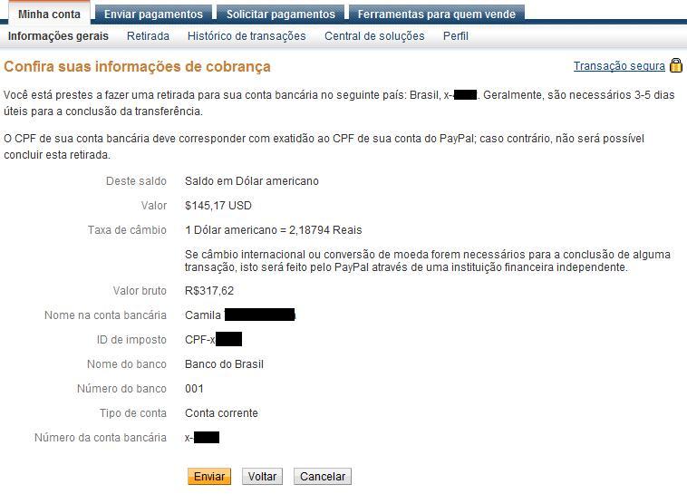 Saque r 317 62 ganhar em d lar Sacar dinheiro no exterior banco do brasil