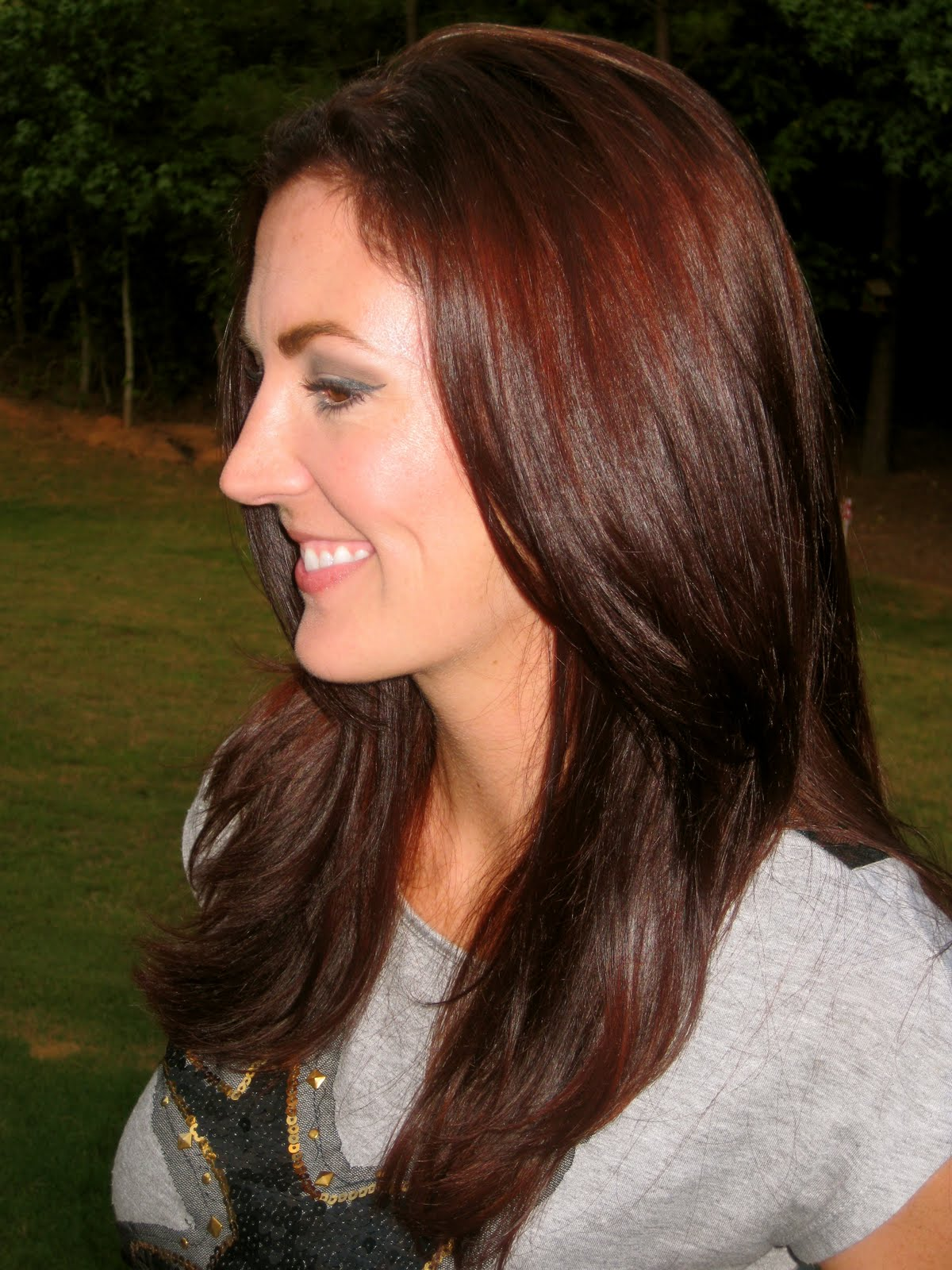Chocolate Auburn Hair On Pinterest Deep Auburn Hair