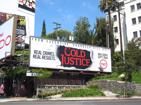 Cold Justice series premiere billboard