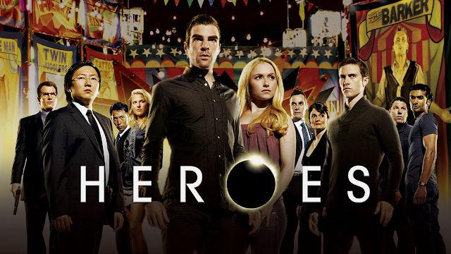 Heroes on @Netflix #streamteam