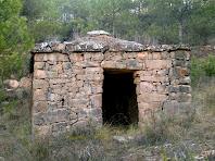 Façana principal de la barraca del Torrent de Cal Rei