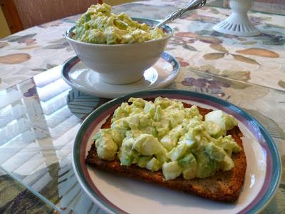 LEMON CHIFFON CAKE: Martha Stewart's Favorite Egg Salad