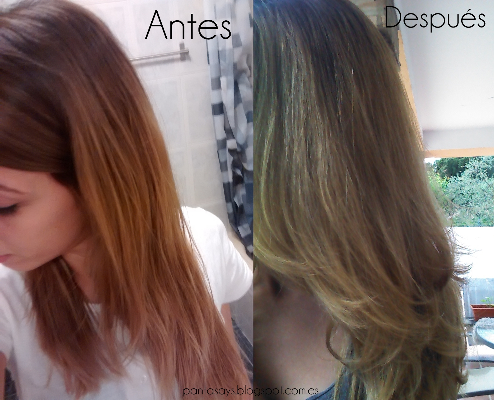 Pantasays c mo matizar el pelo naranja for Color marmoleado para cabello