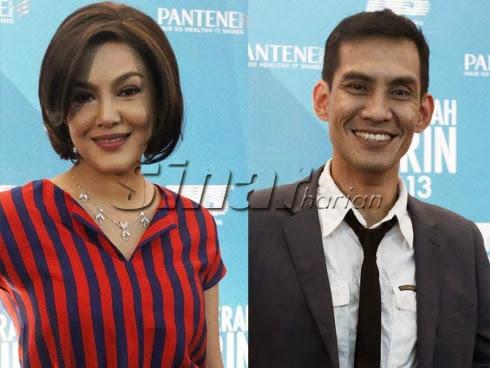 Umie Aida, Faizal Hussein terus bersaing