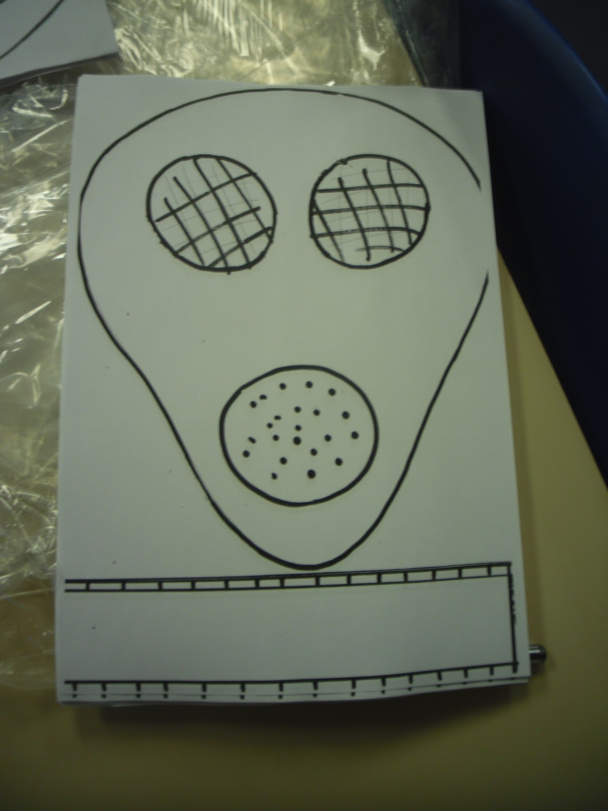 Year 6W: Making your very own gas mask...