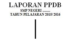 gambar laporan PPDB
