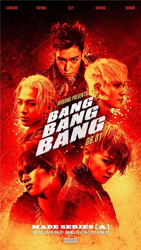 Bigbang BANG BANG BANG MV music video Lyrics Korean English Translation Romanization enjoy Korea hui G-Dragon T.O.P Taeyang Daesung Seungri YG entertainment