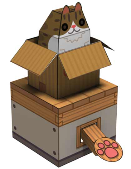 its time for happy papercraft again. this time its internet box cat papercraft fun and it really moves thanks to magic and internet cats. everyone likes ...  sc 1 st  Tubbypaws - blogger & Tubbypaws Aboutintivar.Com