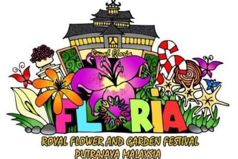 Floria, bunga-bunga, putrajaya, festival, 2015