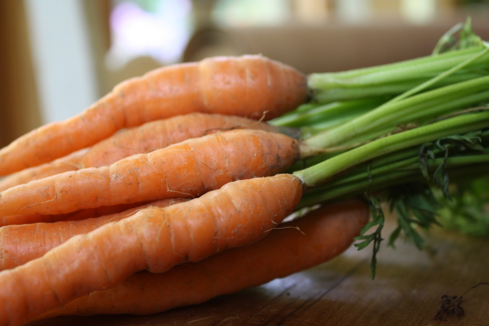 Dusting of Sugar: My Other Blog - Oven Baked Carrot Fries