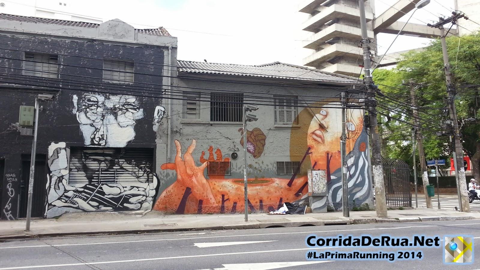 Grafite na Rua Tiriaçu - Corrida De Rua