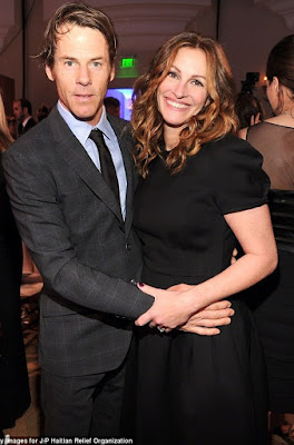 Julia Roberts and husband Daniel Moder.