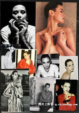 First Asian Model in Europe-Tina Chow