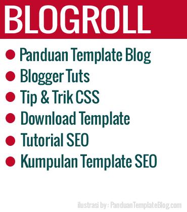 Blogroll Link Dengan Gambar Profil Blog