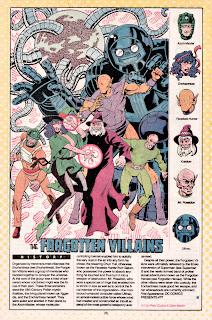 Villanos Olvidados (ficha dc comics)