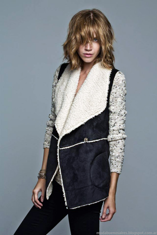 Inedita Moda invierno 2014 sacos, camperas y tapados de mujer invierno 2014 moda.
