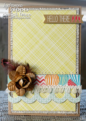 greeting card yellow