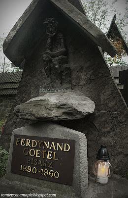 Cmentarz na Pęksowym Brzyzku, Pęksowe Brzyzko, Ferdynand Goetel, Pęksowe Brzysko, cmentarz zakopane, Stary cmentarz, stary cmentarz zakopane