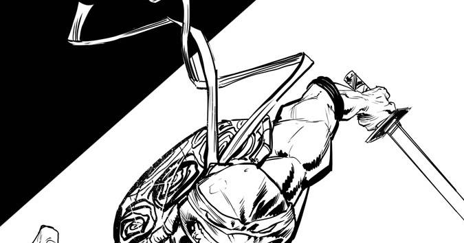 ray dillon   sketches   leonardo ink sketch