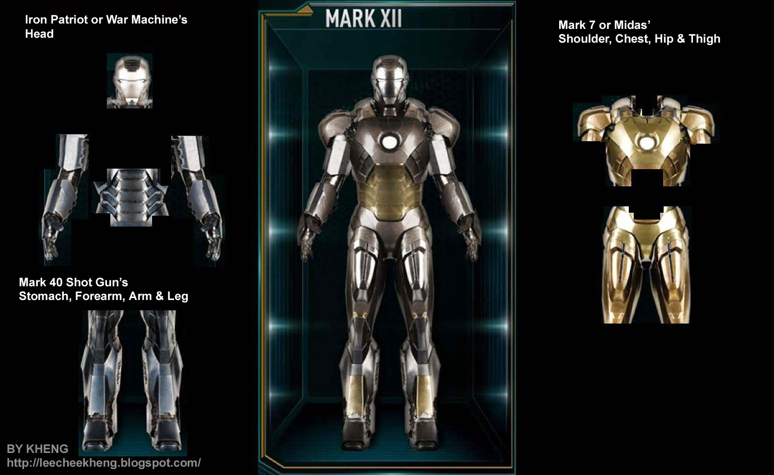 Hot Toys Iron Man 3 Armor Details Analysis & Prediction ...