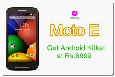 Buy Cheap Moto E exclusively Online from Flipkart India Shopping for Rs.6999