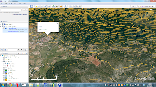Use Case: Make Contour Lines for Google Earth with Spatial R