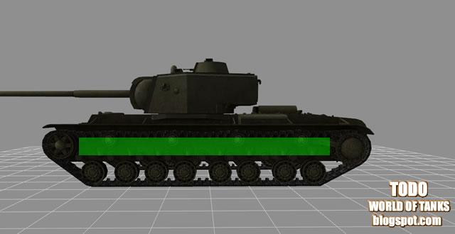 todo world of tanks blindaje penetración puntos debiles weak spots KV-4 lateral
