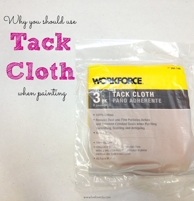 10 Paint Secrets: why you should be using tack cloth when painting furniture. So good to know!