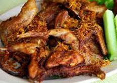 Resep praktis (mudah) puyuh goreng spesial (istimewa) enak, lezat